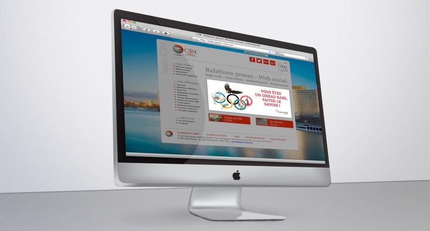 C3M bandeaux web