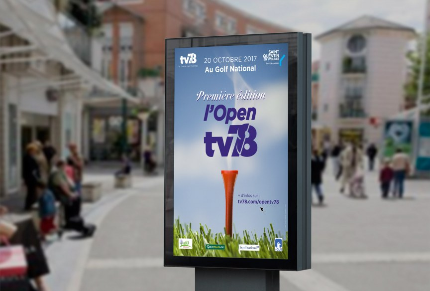 Communication du premier Open TV78 - Saint-Quentin-en-Yvelines