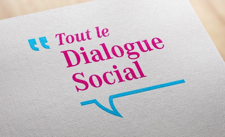 Création de l'identité de Tout le dialogue social
