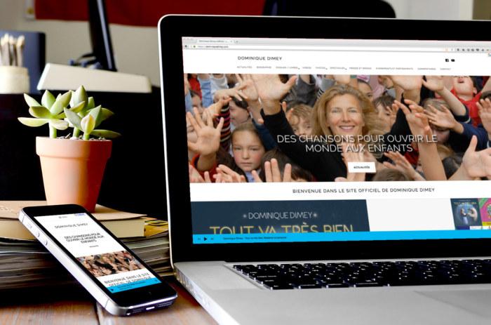 Site web de Dominique DIMEY
