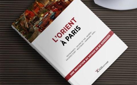 Couverture Guide l'Orient à Paris