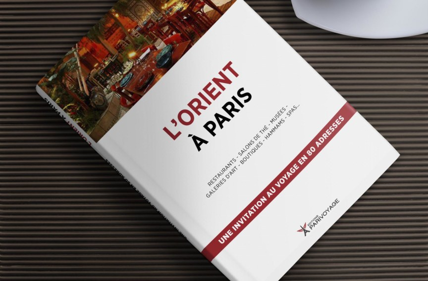 Couverture Guide l'Orient à Paris